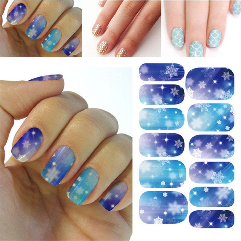 Наклейки для ногтей Zexustech 3D Nail Art Sticker