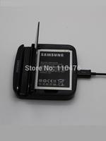 Gennuine Original N7100 Note2 NoteII cradle charger + USB +battery +headphones for samsung N7100 Note2 NoteII