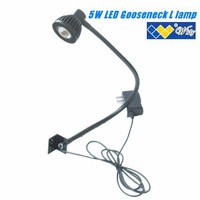 5w COB LED gooseneck metal flexible tube light