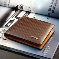 New Brand Leather Men Wallet Designer Bifold Wallets For Men Casual Fashion Bags Men Purses