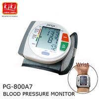 PANGAO Portable LCD Wrist Blood Pressure Monitor Tonometer & Pulse Meter Health Care Sphygmomanometer Pulsometro Health Monitors