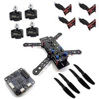 New RC QAV250 Frame DIY Quadcopter Multirotor Kit & Emax MT2204 KV2300 Brushless Motor & Simonk 12A ESC & CC3D & 6030 Propeller