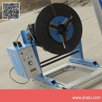 100KG  turntable  welding positioner  with 200mm manual chuck