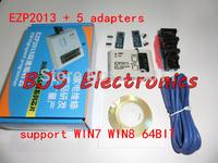 Free Shipping EZP2013 Update from EZP2010 EZP2011 high-speed USB SPI Programmer 24 25 93 EEPROM flash bios vista WIN7+5 adapters