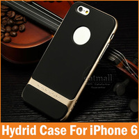 2015 New Ultra thin Soft TPU Back Covers PC Frame for Apple iphone 6 Case 4.7 inch Mobile Phone bags For iphone6 Accessories