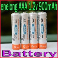 8pcs/lot High Quality New Enelong Low self-discharge AAA Battery 900 mAh 1.2V Ni-MH Rechargeable Battery Free Shipping