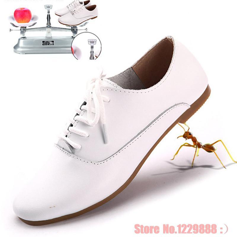 Размер 35-40 обувь из натуральной кожи женщина опрятный стиль квартир женщин дышащие на плоской подошве свободного покроя теннисные мокасины женщины ...