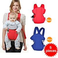 5 pieces Newborn baby backpack sling Infant Comfort Backpacks kangaroo kid Sling Wrap bag canguru chicco Baby Carrier 2 colors