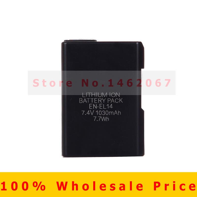 Original EN EL14 Rechargeable batteries ENEL14 EN EL14 Camera Battery pack For Nikon D5200 D3100 D3200