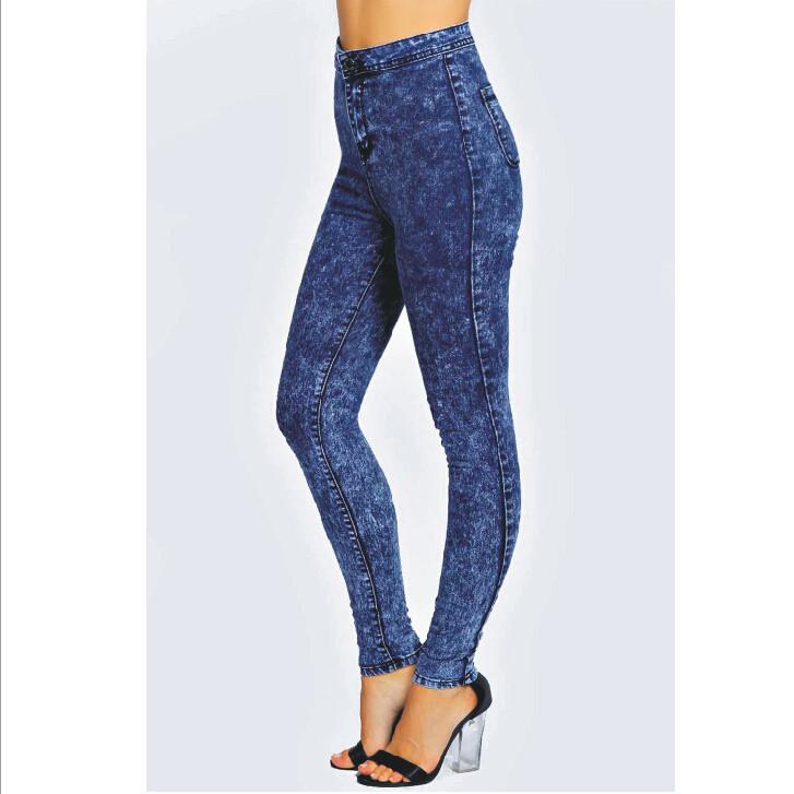 High Waist Jeans Women