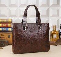 New Genuine Leather Men Bag Briefcase Handbag Men Shoulder Bag Laptop Bag DHL Free Shipping Size W37H28D5 Model MY-M6683