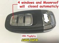 Canbus OBD Plug&Play Car Window Closer Glass Auto Opening/Closing For A4 Q5 Q3 A6 A7 A8 VW Touareg