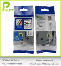Cheapest 24mm laminated tape tz tape TZ-251 compatible tze251 tape