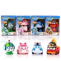 2014 New Brand Baby Toys Korean Anime Robocar poli robot Toys Thomas Toys Pink And Green Gift For Kids