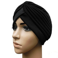 Promotional Gifts Indian CAP Soft India Style head wrap women heandwear Turban Hijab Beanies For USA