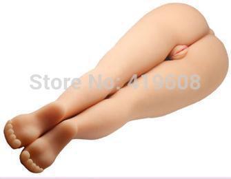 Sex Products/Realistic Scale Leg Sex Doll with Vagina,Anus and Feet Details,Full Soft Silicone, Leg Sex Fantasy,Masturbator(China (Mainland))