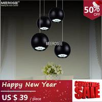 Modern LED Pendant Light Fixture Black LED lamp for dinning room, meeting room