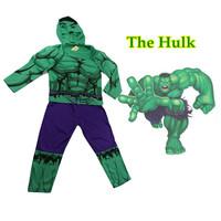 OISK Super hero costumesthe Incredible Hulk robin costumes for  kid Halloween cosplay boys