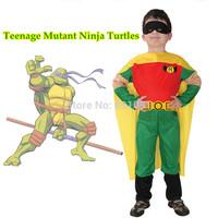 OISK Teenage Mutant Ninja Turtle Children's  Costume anime carnival boys sets superhero cosplay carnival costumes for kids