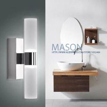 Modern design acrylic 10w 46cm luminaire decoration led bathroom