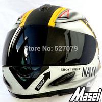 Masei 802 US NAVY Full Face Motorcycle Helmet for NAVY GHOST RIDER