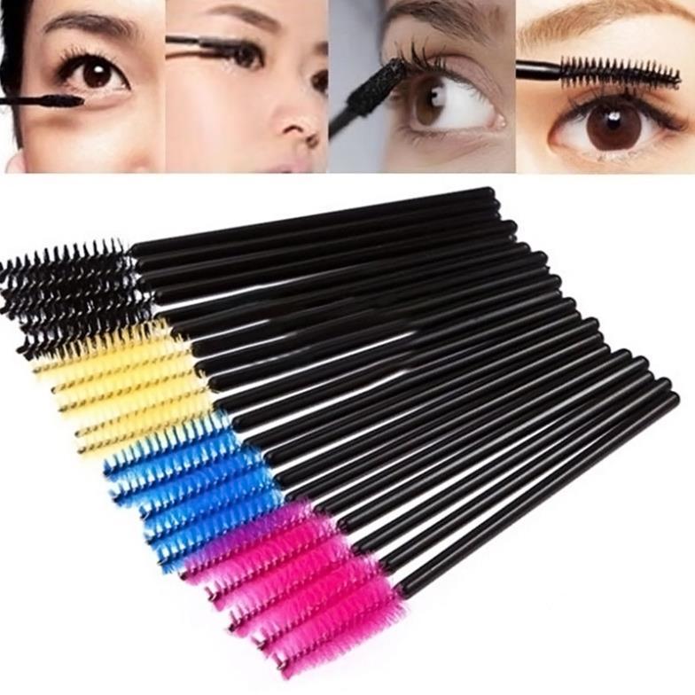 Кисти для макияжа Unbranded 1Set/50 # M01115 Makeup Disposable Eyelash Mini Brush инструменты для макияжа unbranded makeup brush