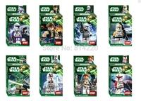 Star Wars clone troopers Legoland Building Blocks Minifigure Educational DIY Toys For Children compatible Legao
