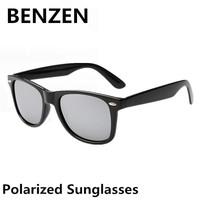 2015 Sunglasses Men Polarized  Oculos De Sol Masculino Classic Wayfarer Sun Glasses  2140 With Case 9040