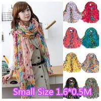 2014 New Style Scarves Vintage Women Floral Scarves Spring Autumn Pashmina Shawl silk scarf 160*50CM