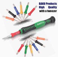 Special Price: BAKU Screwdriver Set:12 Bits +Handle+ Tweezer. Without Box