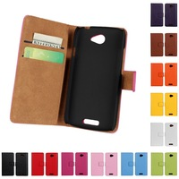 New Arrival Genuine Leather Case for HTC One S Z560e Z520e Wallet Book Style With Credit Card Slots and Stand Fuction Free ship