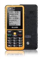 Rugged phone 100% Original Russian keyboard Mann Q2 waterproof phone Big Battery/Speaker Dual Sim Senior Phone b36 A8i B30