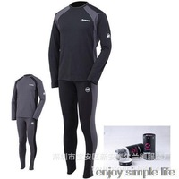 2015 new men long johns fashion man outdoor thermal underwear sets male clothing sets