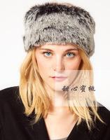 Free Shipping Genuine Fox Fur Hat Wholesale Retail Cap Winter Russian Ushanka Sale