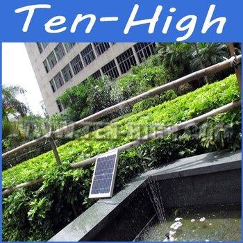 Fedex Freeshipping! The Brushless Motor Solar Fountain, Pump Kit(12V, 10W), Solar pond pool Solar water pump Air pump