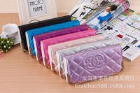 Brand design fashion car line Women Clutch wallet purse 2015 fashion luxury Mrs Long purse hand bag lady zipper coin wallets