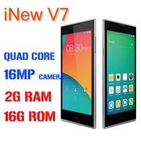 original iNew V7 Android cell phone MTK6582 Quad Core 2GB RAM 16GB ROM 5.0 inch HD OGS IPS 1280X720 16.0MP Camera