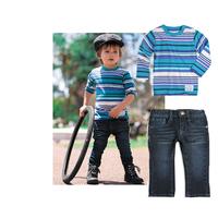 new year chicco roupa de bebe para menina baby boys clothes set roupas conjunto menino striped conjunto menino Jeans boy suit