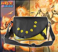Hot Sale Naruto Uzumaki Male Students Style Messenger Bag Fashion Anime Cos Shoulder Bag