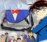 Hot Sale Conan Fashion Male Students Style Messenger Bag Fashion Anime Cos Shoulder Bag