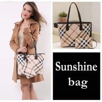 Women's handbag   plaid  Brand Women's Handbag Classic Plaid Bags