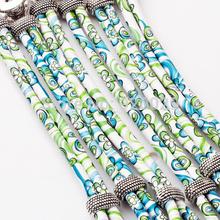 P00024 Newest mix color button clasp cord bracelet button bracelet fit 18mm button