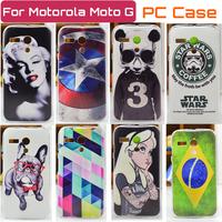 Hot Selling Cover Case FOR Motorola MOTO G Case cover FOR Moto G XT1031 XT1032