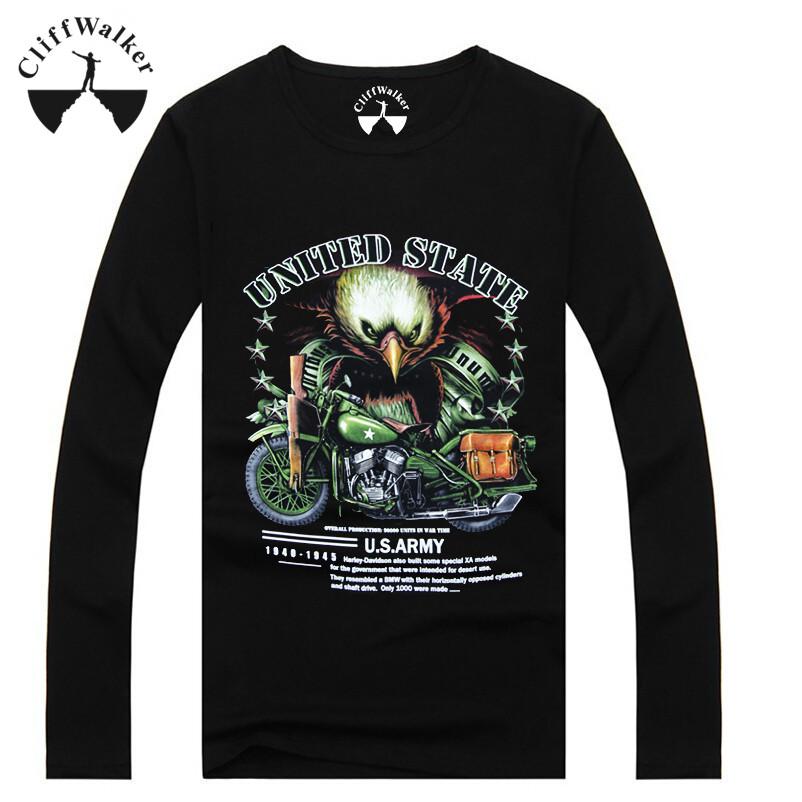 Hot Design Autumn Rock Combed Cotton Long Sleeve Cheap Plain Men's Bulk T.shirt For Sale (TYA-MT-15034)(China (Mainland))