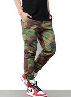 Camo Jogger Pants Men/ Camouflage Jogging Pants/  Casual Taper Man