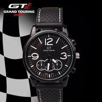 GT F1 Fashion silicone watches men causal sports wrist brand watches black cool men's quartz watch relogio masculino waterproof