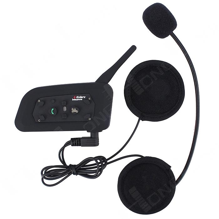 Гарнитура для шлема BTI ! 1 PC 1200M Bluetooth bt3.0 Interfone Multi 6 гарнитура для шлема brand new v1 1 interphone bluetooth 3 0 intercomunicadores