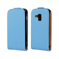 New Flip Leather Case For Samsung Galaxy Trend Plus S7580 Cell Phone bags Cases Cover Stand & Card Holders