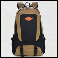 2014 Fashion New Men'S Backpack Outdoor Travel Backpack Wear-Resisting Thickened Cotton Washed Canvas Backpack Mochilas H148