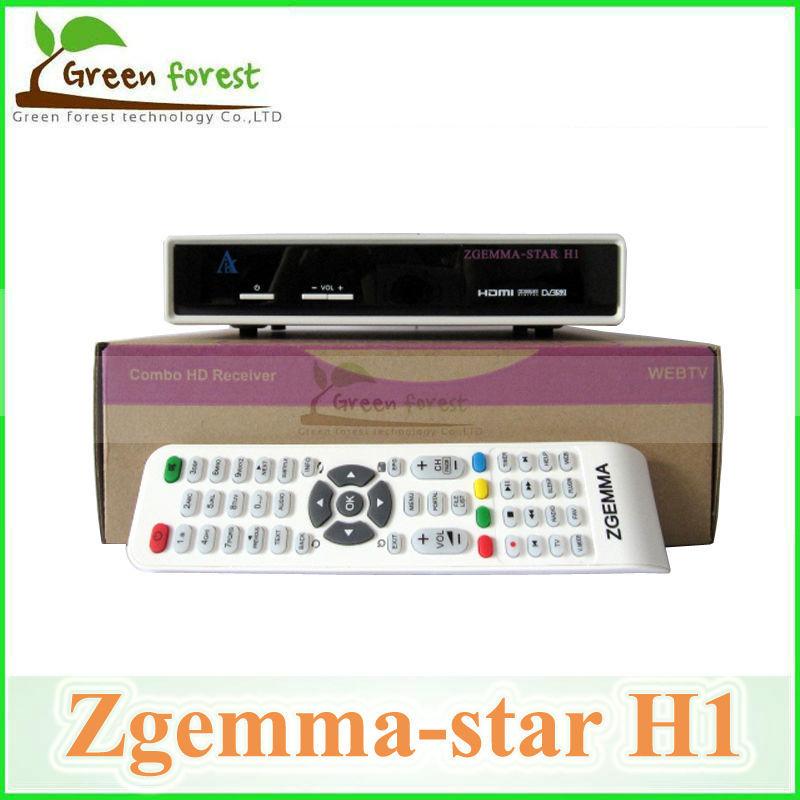 3PC/LOT Zgemma star H1 Satllite TV Receiver DVB-C Model based DVB-S2+C enigma2 linux OS Zgemma-star H1 satellite receiver(China (Mainland))